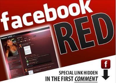 Dajte si pozor pred červeným Facebookom!