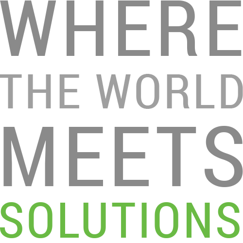 Where the world meets solution.